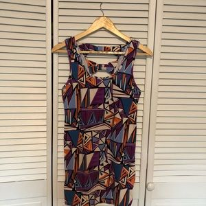 Forever 21 Geometric Print Bodycon Dress